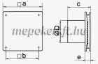 Vents 100 LD Axiális Fali Elszívó ventilátor