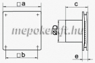 Vents 125 LD Axiális Fali Elszívó ventilátor