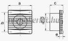 VENTS 100 M TPL Axiális  Fali Elszívó ventilátor Mozgásérzékelő időkapcsoló