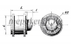 Blauberg Tubo 100 T csőventilátor  időkapcsolóval