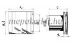 Blauberg Quatro 125 T ventilátor időkapcsolóval szerelve