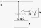 Vents RS-1-400 N falon kívüli  Fordulatszám szabályzó