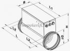 NK 100-1,6-1 elektromos fűtőelem