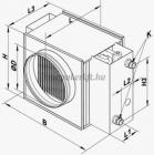 NKV 200-2 vizes rendszerű fűtőelem