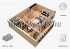 VENTS VUE2 250 P EC entalpiás hővisszanyerős szellőztető