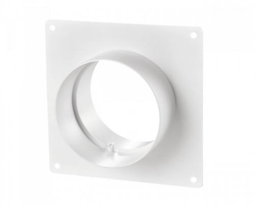 Műanyag csőtoldó beépítő kerettel NA 100  (151)