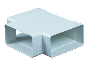 Műanyag Vízszintes T idom 55x110mm  (535)