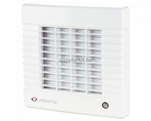 Vents 100 MAT Fali axiális Zsalus  elszívó ventilátor időzítővel