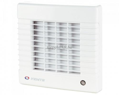 Vents 100 MATH Fali axiális Zsalus elszívó ventilátor időzítő páraérzékelő