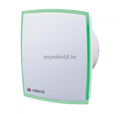 VENTS 100 LD Light Green Zöld LED világítással elszívó ventilátor