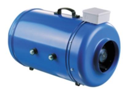 Vents VKMI 250 Hangszigetelt csőventilátorventillátor