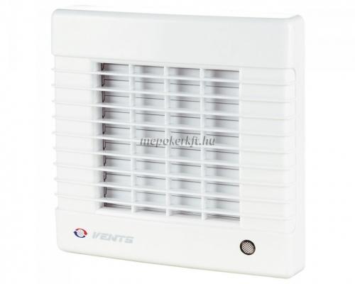 Vents 100 MATL Fali axiális Zsalus elszívó ventilátor időzítővel Golyóscsapággyal