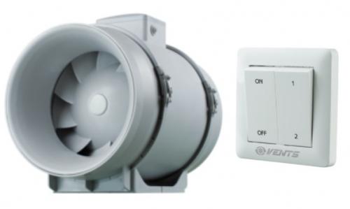 VENTS TT Pro 100  ipari csőventilátor fordulatszámszabályzóval