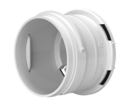 FlexiVent szellőző rendszer idom 75mm Csatlakozó csonk Légdobozhoz (0275)