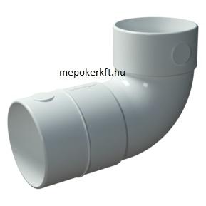FlexiVent szellőző rendszer idom 75mm könyök (060375)